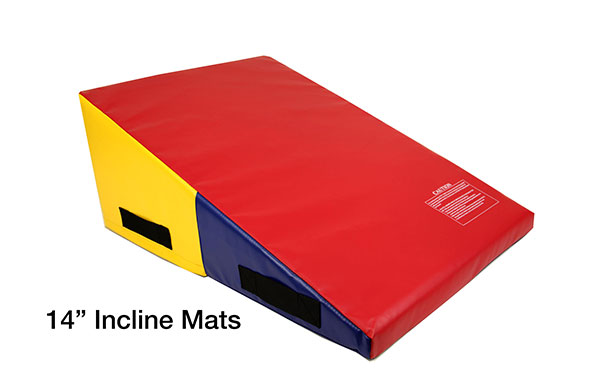 Portable Gym Mats : Incstores incline mats portable practice tumbling