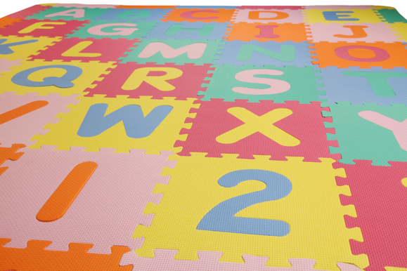 Incstores Abc 123 Large Foam Alphabet Amp Numbers