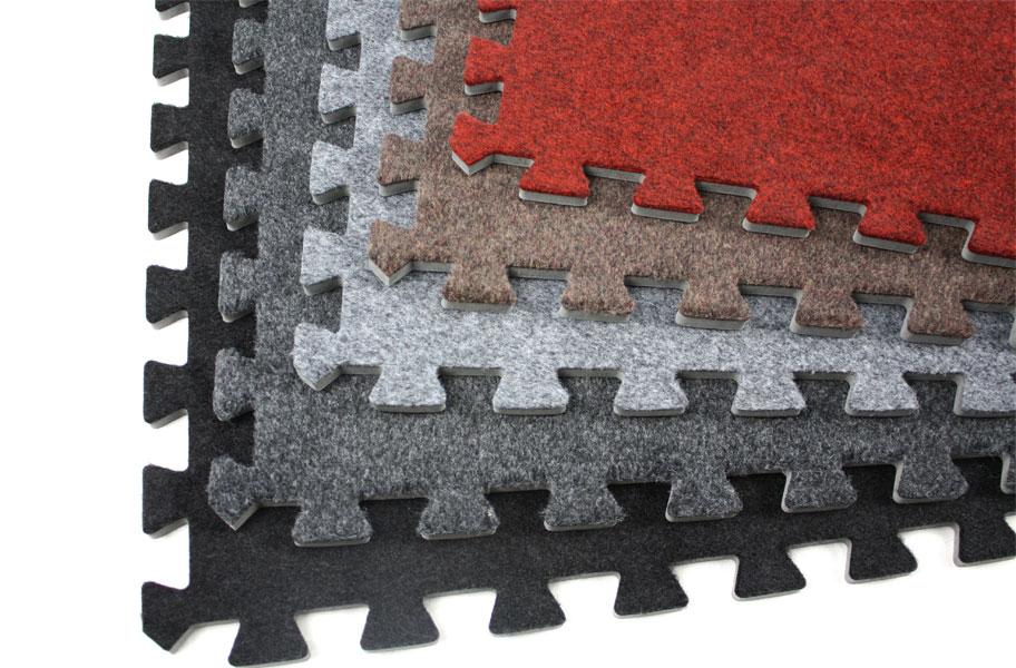 13df178ccc41 Details about Incstores Eco-Soft Carpet Top Interlocking Trade Show Booth  Foam Tile 2 x2