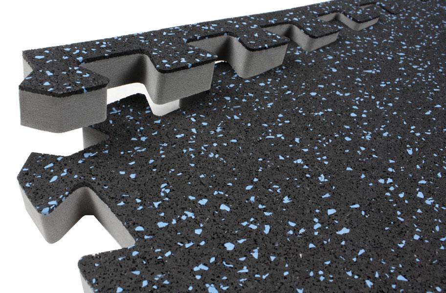IncStores Soft Rubber Tiles 2ft x 2ft Rubber Foam Combo Tiles For ...