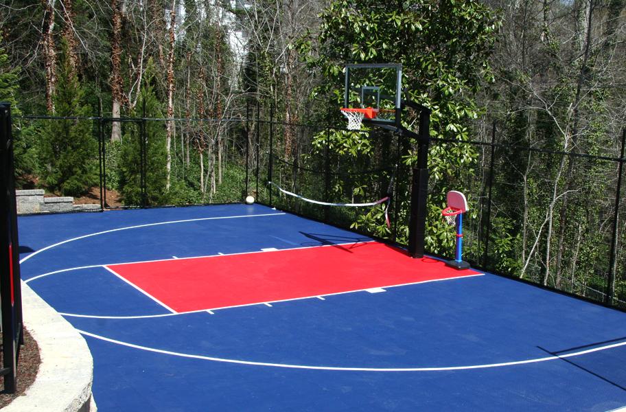 Incstores Outdoor Basketball Volleyball Sport Soccer Court